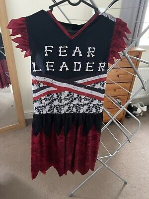 $ CDN2.56 • Buy Ladies Halloween Fear Leader Dress Costume Size 8-10