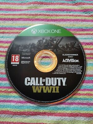 £7.50 • Buy Xbox One Call Of Duty WWII COD PRISTINE 1st Class SUPER FAST And FREE Delivery