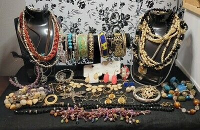 $ CDN12.12 • Buy Untested Vintage To Now Jewelry Lot, Wearable, Resell
