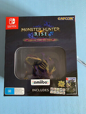 AU195 • Buy Monster Hunter Rise Collector's Edition Switch BRAND NEW