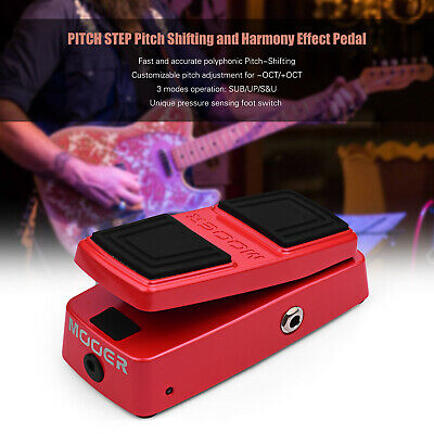 $ CDN149.78 • Buy MOOER PITCH STEP Pitch Shifting And Harmony Effect Pedal Pressure Sensing B9L8