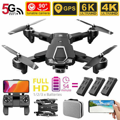 AU99.73 • Buy 5G 4K&6K GPS WiFi Drone X Pro With HD Camera FPV Selfie Foldable RC Quadcopter