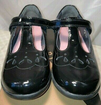 £24.99 • Buy Startrite Girls Poppy Black Leather Mary Jane School Shoes Various Sizes Rrp £40