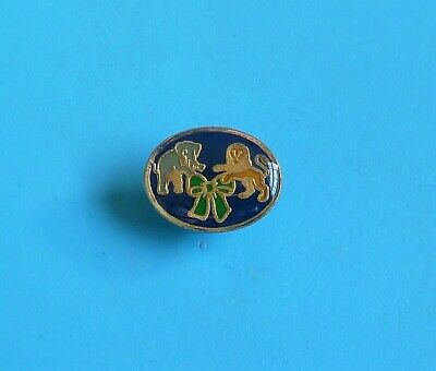 £5.99 • Buy  Rare Macmillan Cancer Relief Elephant And Lion Crest Stud Pin Badge Charity