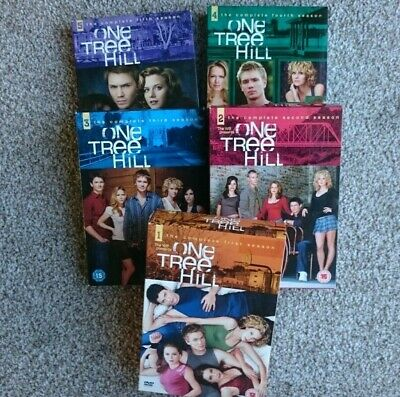 £18 • Buy ONE TREE HILL - TV SERIES - COMPLETE SEASONS 1-5 DVDs - BOXED SETS - VGC