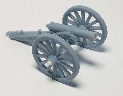 £6 • Buy ACW Artillery Cannon, Choice Of 3 Barrels For 28mm War Games