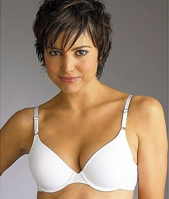 $0.99 • Buy New Bra Maidenform 1-Fabulous-Fit T-Shirt Underwire White 07959 MSRP-$38.00 34D