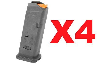 $44.49 • Buy FOUR Magpul 10rd Mag Fits GLOCK G19 MAG907-BLK *FAST! FREE! SAME DAY SHIPPING!*