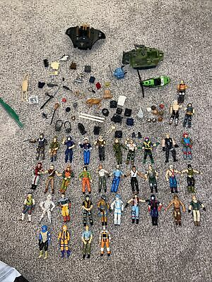 $ CDN197.83 • Buy Huge Vintage  Gi Joe Action Figure Collection Lot 1980s Toys, Weapons, Vehicles