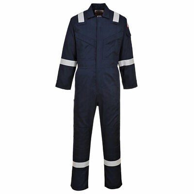 £55 • Buy  Welding Coverall,portwest Anti Static,overall,flame Retardant,navy,biz,ppe