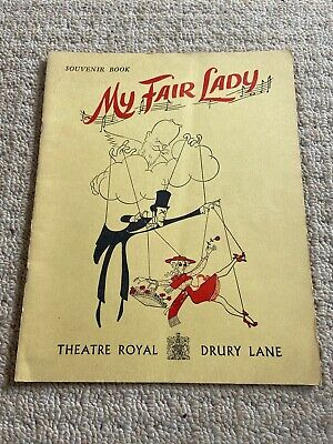 £5 • Buy My Fair Lady Theatre Programme Anne Rogers Charles Stapley James Hayter Late 50s
