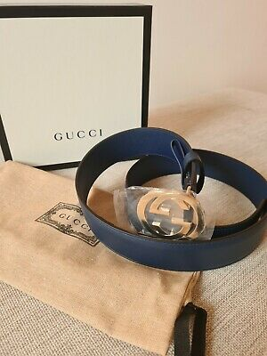 AU158.19 • Buy Gucci GG Belt - Size 85CM - Brand New - 100% Authentic