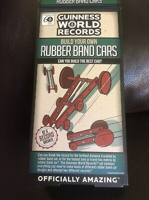 £2.95 • Buy Build Your Own Rubber Band Cars Traditional Toy Stocking Filler