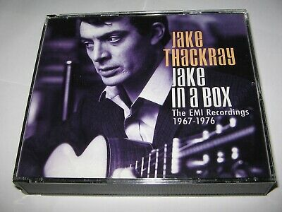 £49.99 • Buy JAKE THACKRAY : JAKE IN A BOX (THE EMI RECORDINGS 1967-1976) 4 CD SET 4 Albums +