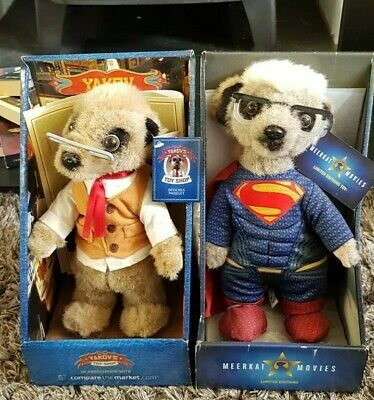 £3 • Buy Meerkat Superman And Yakov Toy Shop Toy