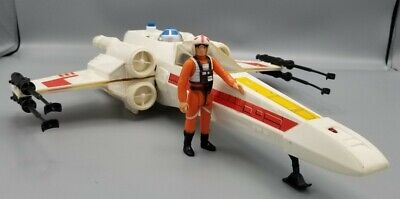 $ CDN199.64 • Buy VINTAGE STAR WARS COMPLETE X-WING FIGHTER Luke FIGURE KENNER WORKS 1978