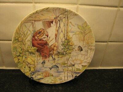 £10.99 • Buy Beatrix Potter  Plate -tale Of Jeremy Fisher  -  Wedgwood