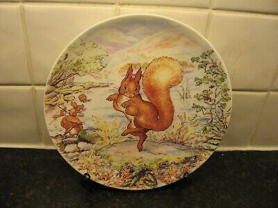 £10.99 • Buy Beatrix Potter  Plate -  Tale Of Squirrel Nutkin -  Wedgwood