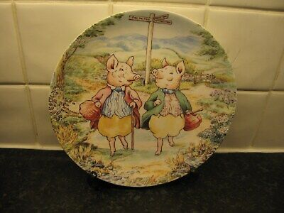 £10.99 • Buy Beatrix Potter  Plate -tale Of   Pigling Bland -  Wedgwood