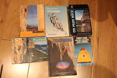 £25 • Buy 6 X Rock Climbing Books - All Listed And Pictured
