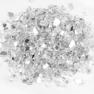 £43.17 • Buy Future Way 15LB Fire Glass For Fire Pit, 1/2-inch Fireplace Glass White Reflecti