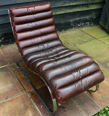 £900 • Buy Timothy Oulton Halo Costello Aniline Leather Chaise Longue - Great Condition