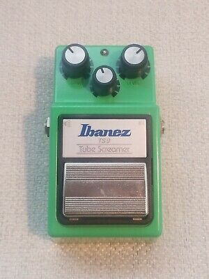 $ CDN72.58 • Buy Ibanez TS9 Tube Screamer Overdrive Guitar Effects Pedal. Tested. Working!