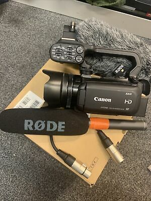 £700 • Buy Canon Xa10 Camcorder And Rode Microphone