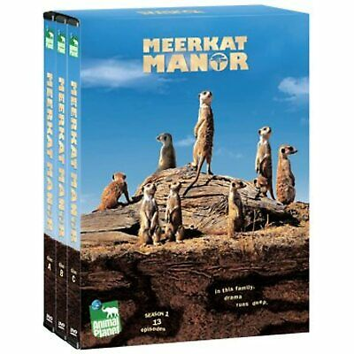 £13.48 • Buy Meerkat Manor By Animal Planet Season One 13 Episodes New Sealed