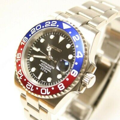 £220 • Buy SEIKO Submariner Divers Watch (Sll) Movement PEPSI GMT-Master *Sapphire *Ceramic