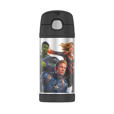 AU21.95 • Buy THERMOS FUNTAINER® WATER BOTTLE 355ML Marvel Avengers