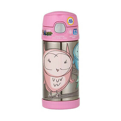 AU24.95 • Buy THERMOS FUNTAINER® WATER BOTTLE 355ML Toy Owl