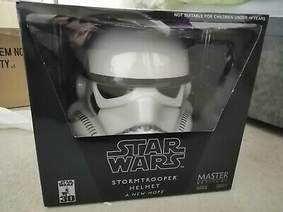 £250 • Buy Master Replicas SW-153 CE A New Hope  Stormtrooper Helmet Full Size Never Opened
