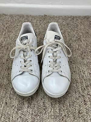 AU10.91 • Buy Adidas Mens Stan Smith Leather Trainers Size 8