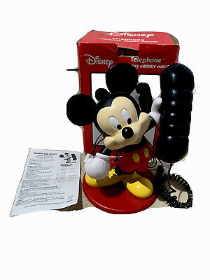£60.99 • Buy Vintage Mickey Mouse Telephone ⭐️RARE⭐️ Stunning Looking Phone