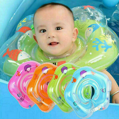 £4.99 • Buy UK Baby Toddler Inflatable Swimming Ring Toys Float Safety Ring Pool Kids