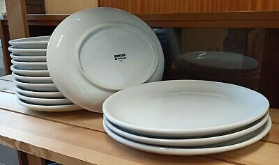 £4.99 • Buy Dinner Plates Athena Hotelware Ceramic Serving Oval FREE MANCHESTER DELIVERY