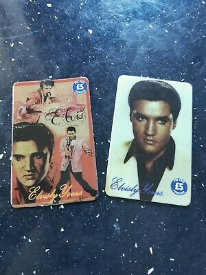 £8.99 • Buy Old Phone Cards Of Two Rare Elvis Presley