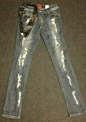 £12 • Buy Vero Moda   Skinny Jeans   Ripped   Size 10   New With Tags