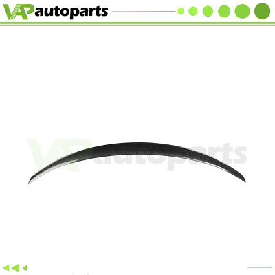 $139.95 • Buy M4 Style Rear Spoiler Wing For 2010-2011 BMW E82 1-Series Coupe Carbon Fiber