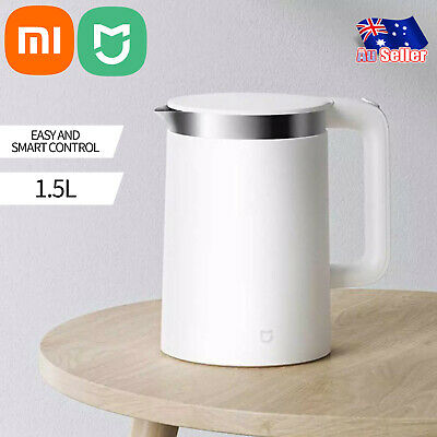 AU99.90 • Buy Xiaomi Electric Water Kettle 1.5L Thermostatic 1A  Stainless Steel Smart Control