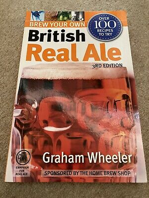 £9 • Buy Brew Your Own British Real Ale 3rd Edition, Paperback, Published By CAMRA Books