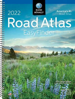 £10.50 • Buy Rand Mcnally USA Road Atlas 2022 BEST Large Scale Travel Maps United States NEW