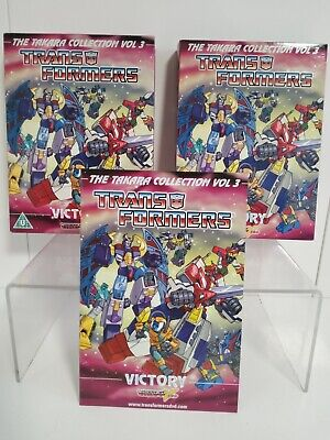 £49.99 • Buy Transformers: The Takara Collection Vol 3 Victory 4x Dvd *oop Anime* N Roche Vgc