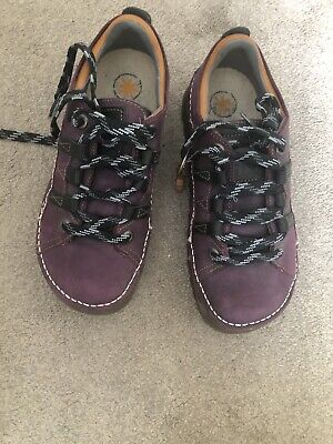 £80 • Buy Art Skyline 590 Womens Ladies Purple Chunky Lace Up Trainers Shoes Size 4-8
