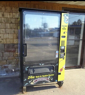 $4710 • Buy Live Bait Vending Machine Fishing Sport Shop Outdoor USED Tackle Equipment