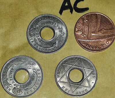 £3 • Buy 3x 1939 British West Africa One Tenth Of A Penny Coins 1/10th Of A Penny