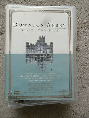 £14.65 • Buy Downtown Abbey   Series 1-5   DVD 19 Discs Includes 3 Specials One To Five