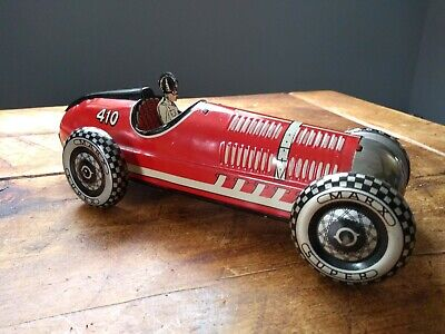 £225 • Buy TINPLATE MARX #410 RACE CAR - WIND UP - EXCELLENT COND – 1930s – Mettoy, Wells