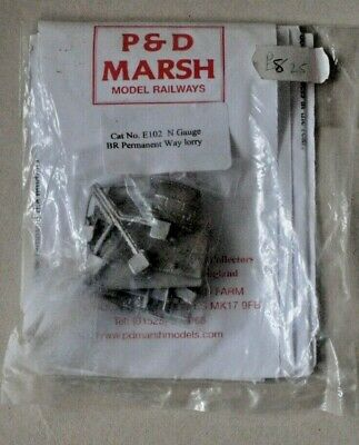£8.50 • Buy N Gauge P And D Marsh Model Kit - BR Permanent Way Lorry (Cat No E102)